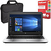 "HP ProBook 455 G4 - Y8B09EA#ABU - 15.6"" Laptop AMD A9-9410 4GB 500GB Win 10 Pro with Internet Security & Case"