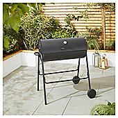 Tesco Charcoal Barrel BBQ with Cover