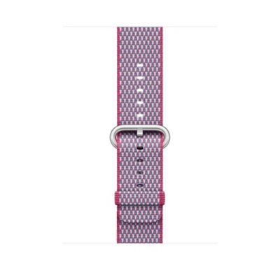 Apple MQVN2ZM/A Band Pink Purple Nylon 42mm Berry Check Woven