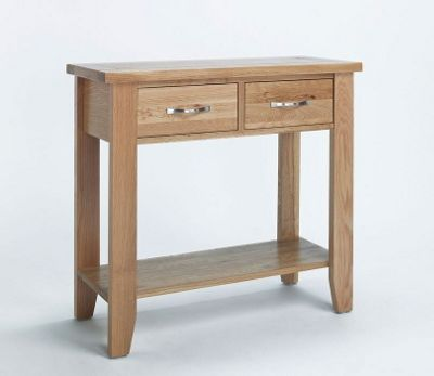 Ametis Sherwood Oak Console Table - 118cm