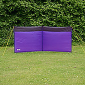 Trail 3 Pole Camping Windbreak Purple