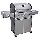 Char-Broil 3 Burner T5000 Gas BBQ - Silver