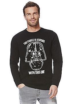 Star Wars Darth Vader Logo Musical Sweatshirt - Black