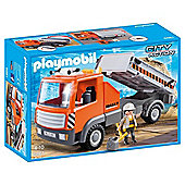 Playmobil 6861 City Action Flatbed Workman's Truck