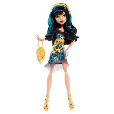 Monster High - Black Carpet Fright, Camera, Action - Cleo De Nile Dol