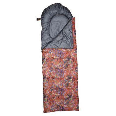 Tesco Festival Sleeping Bag, Jelly Bean