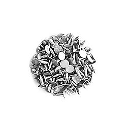 8mm Galvanised Roof Shed Felt Clout Head Nails Roofing Felt Nails (Pack of 50)