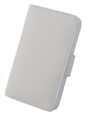 Tortoise™ Genuine Leather Folio Case iPhone 4/4S White