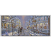 Victorian Scene LED Canvas Art