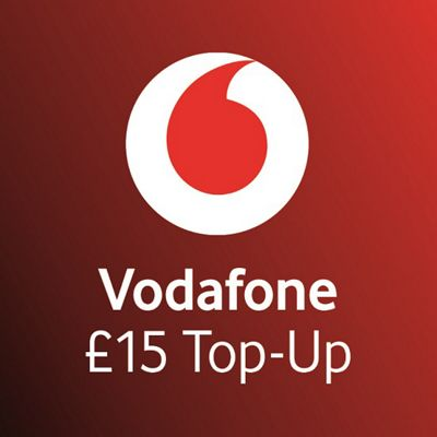 Vodafone £15 mobile Top Up