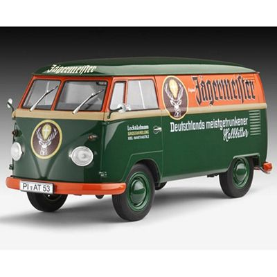 Revell Vw T1 Transporter (Kastenwagen) 1:24 Model Car Kit - 07076