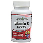 Natures Aid Vitamin B Complex - 90 Tablets