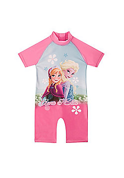 Disney Frozen Elsa Anna Toddler Girls Kids Swim Surf Suit - Pink