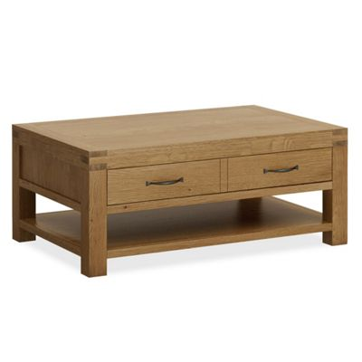 Abbey Grande Coffee Table With Drawer - Coffee Table
