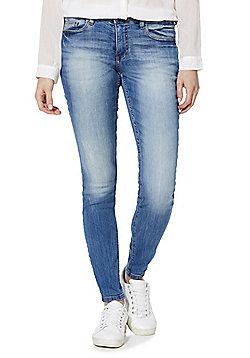 Jacqueline de Yong Low Rise Skinny Jeans - Light wash