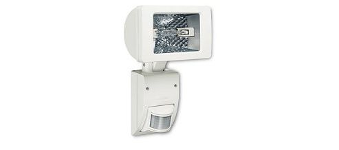 Steinel HS2160 White Wall mounted 150w halogen sensor light