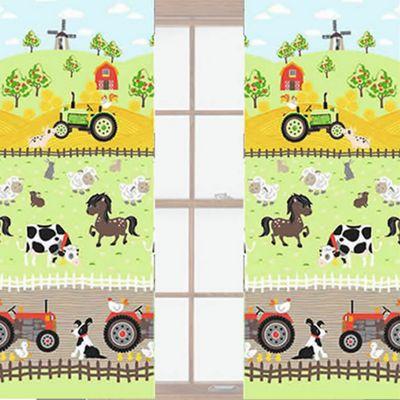 Apple Tree Farm 72s, Toddler or Nursery Curtains