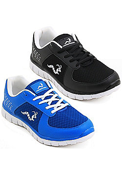 2 X Woodworm Mxt Mens Running Shoes / Trainers - Multi