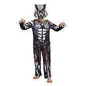 F&F Tribal Werewolf Halloween Costume - Grey