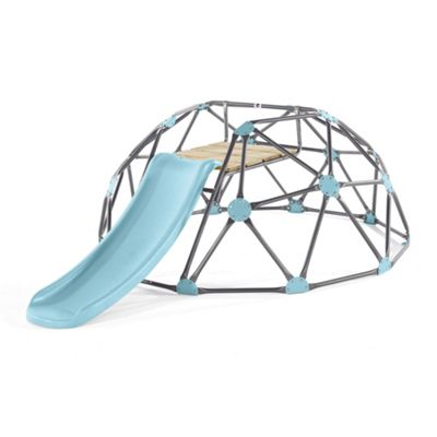 Plum Large Climbing Dome With Slide - Blue