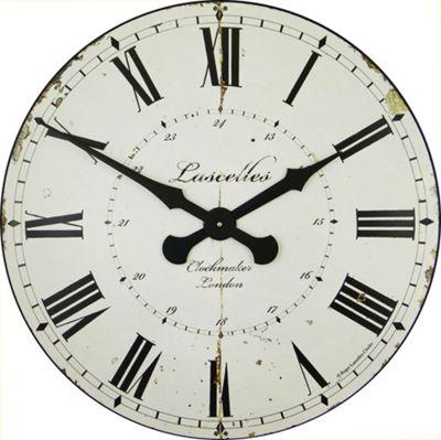 Roger Lascelles Clocks Large Clockmaker Wall Clock