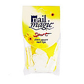 Nail Magic Sport Short Square Nail Tips