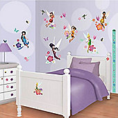 Disney Fairies Room Decor Kit with Height Chart