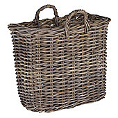 Grey Kubu Magazine Basket