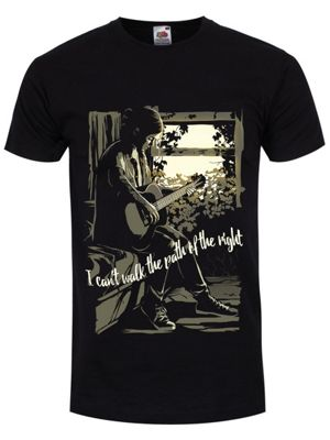I Can't Walk The Path Of The Right Men's T-shirt, Black