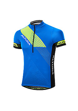 Altura Sportive Short Sleeve Cycling Jersey - Blue & Black