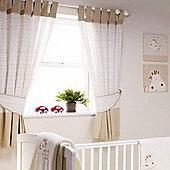 Bed-e-ByesZippy Zebra Curtains Tape Top 117x137