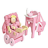 Le Toy Van Doll's House Nursery Set
