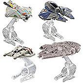 Hot Wheels Star Wars Die-cast vehicle 4 Pack - Hero Starship