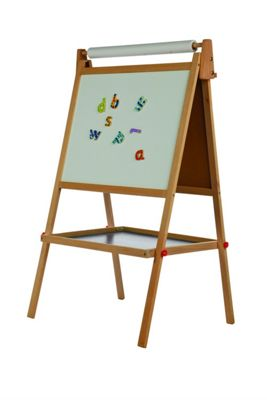 DOUBLE SIDED EASEL W/ PAPER