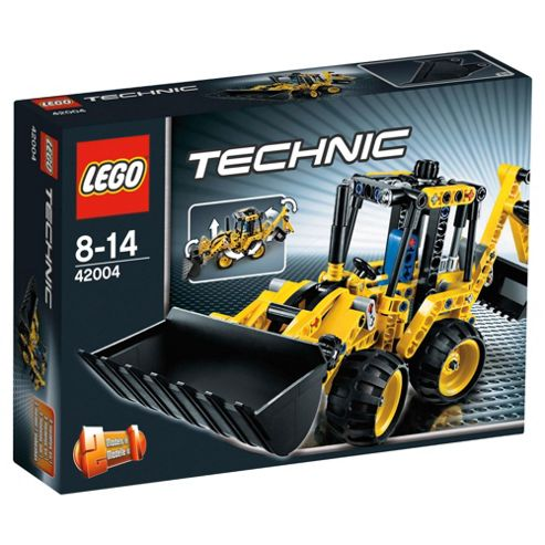 LEGO Technic Mini Backhoe Loader 42004