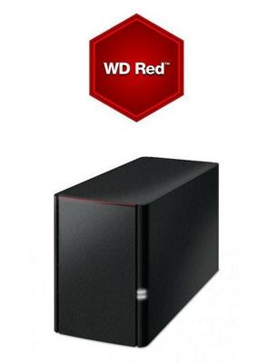 Buffalo LinkStation 220D/12TB-RED 2-Bay 12TB(2x6TB WD RED) Network Attached Storage