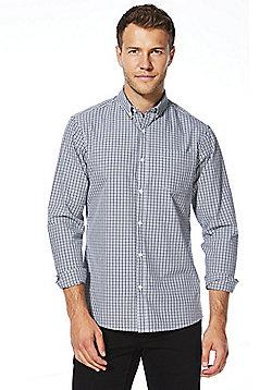 F&F Checked Shirt - Navy