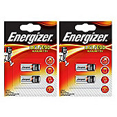 4 x Energizer LR1 1.5V Alkaline Battery E90 MN9100 N AM5 910A