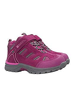 Mountain Warehouse Drift Junior Waterproof Boots - Pink