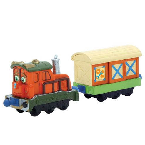 Chuggington - Calley with Box Car 2 Pack