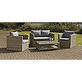 Wentworth 4 piece Fixed Sofa Garden Set