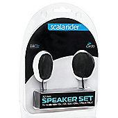 Cardo Scala Rider 32mm Speaker Set│For Qz Q1 Q3 G9x Smartpack Packtalk Audio Kit