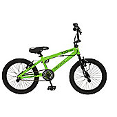 "Zombie Nuke 18"" Wheel 360 Gyro Freestyle BMX Bike Green"