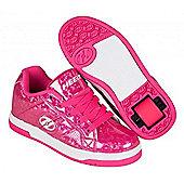 Heelys Spit Pink/Hologram Kids Heely Shoe - Pink