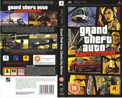 Grand Theft Auto (GTA) Liberty City Stories - Platinum Edition - PSP