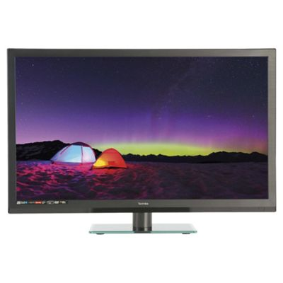 Technika 24E21B-HDR/DVD 24 Inch HD Ready 720p Slim LED TV / DVD Combi With Freeview