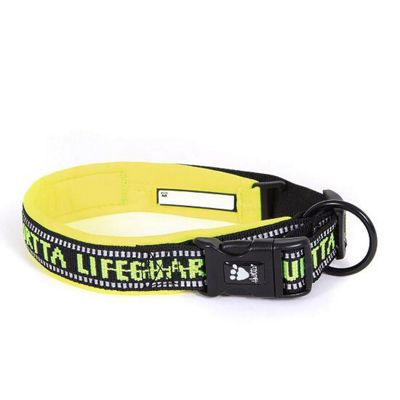 Hurtta Lifeguard Padded Collar Yellow 35-45cm