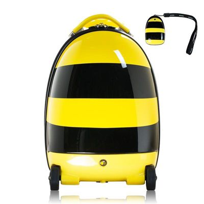 RideonToys4u Battery Powered 2.4G Remote Control Walking Suitcase Bee