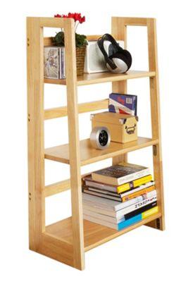 Premier Housewares Three Tier Folding Book Shelves - Large