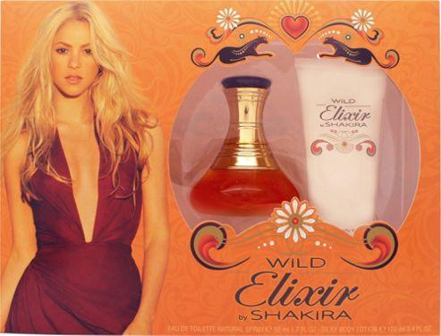 Shakira Wild Elixir Gift Set 50ml EDT + 100ml Body Lotion For Women